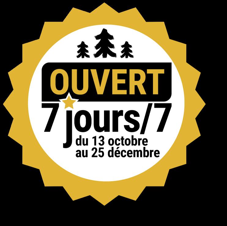 Sapins Latour - ouvert 7jours/7 du 13 octobre au 25 décembre